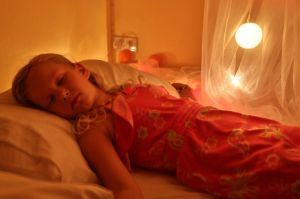 Gabriela sleeping